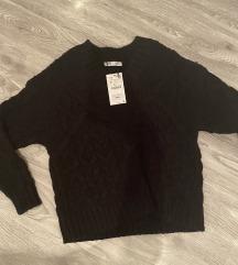 Zara oversize pulover
