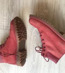 Original timberland crvene čizme