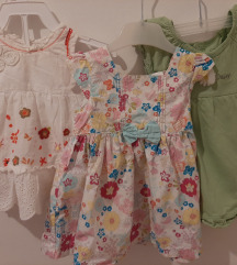 Lot 3 haljinice - 50 kn