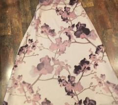 Duuuuuga suknja od svilenog materijala