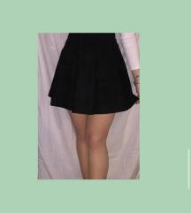 Suknja od pliša
