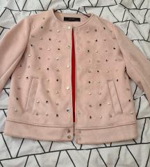 Zara baršun jakna