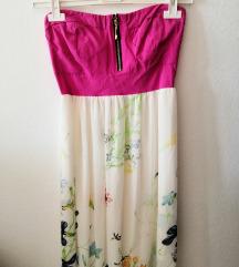 Duga cvjetna maxi haljina