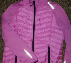 Roza sportska jakna