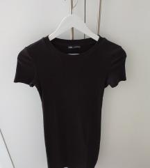 Zara uska crna haljina S
