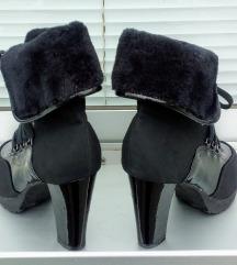 SNIŽENO! Nina fashion čizme sa krznom 40