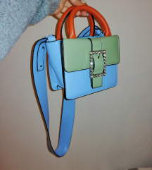 Color block torbica