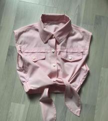 Košuljica/bluzica na vezanje,kratka