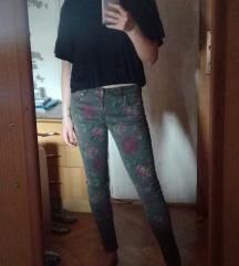 C&A boho hlače s floralnim printom
