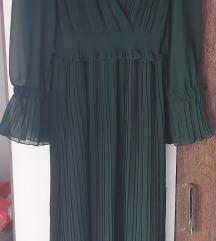 Zara zelena haljina