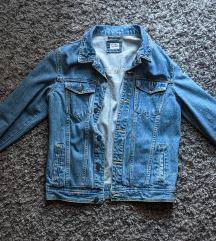 plava muška pull&bear traper jakna