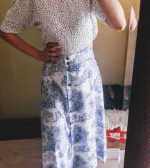 Nova H&m maxy suknja