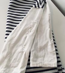 Novo Reserved majica s bijelim traper rukavima