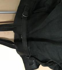 NOVO IKKS torba koža+traper