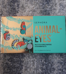 Sephora Animal Eyes Eyeshadow Paleta