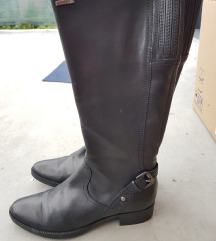 Visoke kožne čizme - Geox (39)
