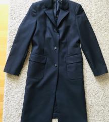 Tamnoplavi kaputić blazer vel 36-38