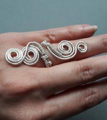 Unikatni prsten od žice