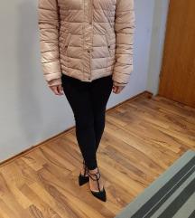 Kratka zimska roza jakna