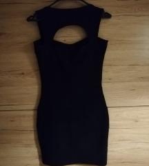 Crna bandage haljina