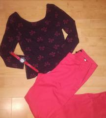 H&M crvene hlače