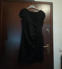 Crna svećanija haljina M/L