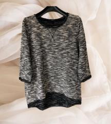 H&m sivi pulover vel L