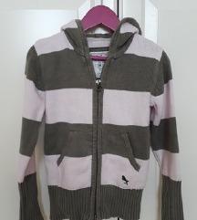 H&M vesta/džemper sa kapuljačom vel. 116