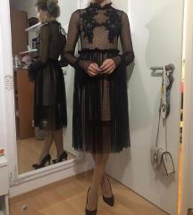 Crna haljina cipka % SNIŽENO!!! %