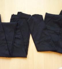 Nove Tezenis crne pamučne čarape štrample, M