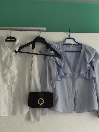 Lot 2 bluze i torbica