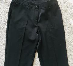 Esprit crne široke hlače na crtu vel 36-38