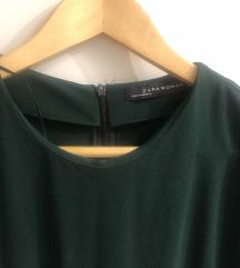 Zara tamno zeleni kombinezon