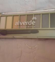 Nova paleta sjenila za oči Alverde