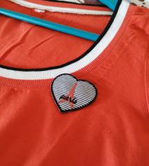Narančasta majica/Diadema