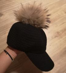 Zimska kapa s coflekom