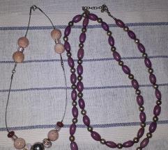 Dvije ogrlice i poklon narukvica