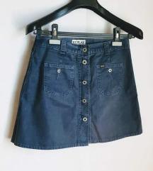 REPLAY blue jeans suknja  🎀