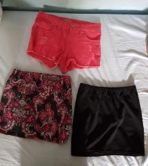 Lot suknje(M,38) -zamjena ili 10 kuna