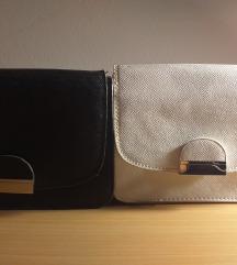 Crna i bijela torbica
