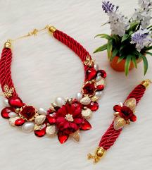 Komplet ogrlica i narukvica