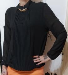 Nova bluza s ogrlicom ,puf model