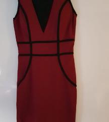 Crvena kratka haljina