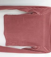 Plišana majica poluprozirna