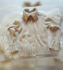 H&M knit pulover s gumbima