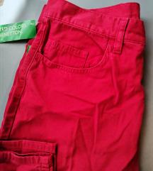 Benetton mom fit hlače (pt.gratis)
