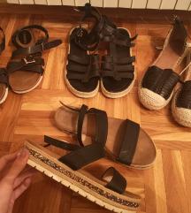RASPRODAJA, LOT sandala (4 para)