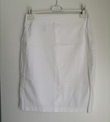Bijela pencil Cute suknja
