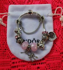 Pandora narukvica, Disney, dva srca, nova
