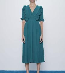 Zara haljina plisirana